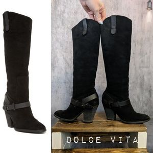 Dolce Vita Hawthorne knee-high suede boots 😍